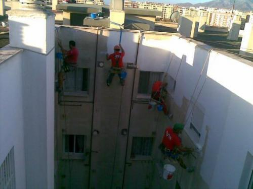 Impermax, rehabilitación de fachadas en Málaga