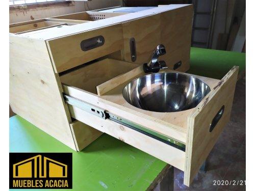 Fregadero para cocina portatil