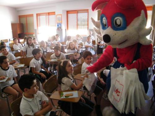 Charlas en Colegios con nuestro Proyecto Cívico Infantil Escadiñas