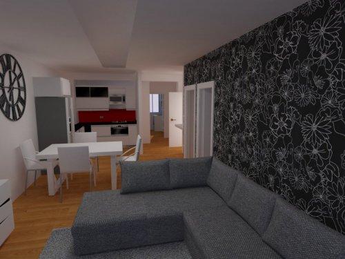 diseño de habitacion 3D casa Móvil