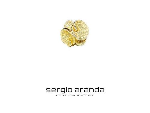 SERGIO ARANDA JOYAS CON HISTORIA ANILLO EN PLATA CON BAÑO DE ORO