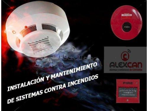 Instalación y mantenimiento sistema contraincendios