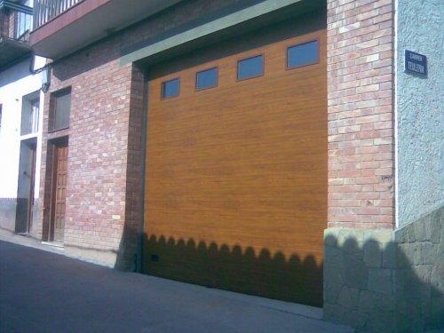 Seccionel imitación madera
