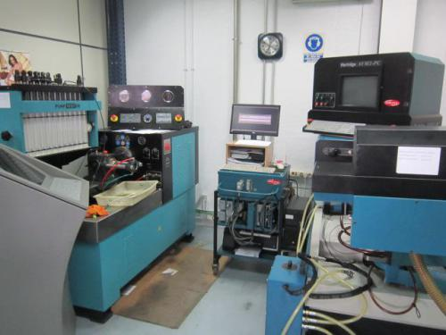 Banco de pruebas bombas rotativas y Common Rail, Denso, Delphi, Siemens