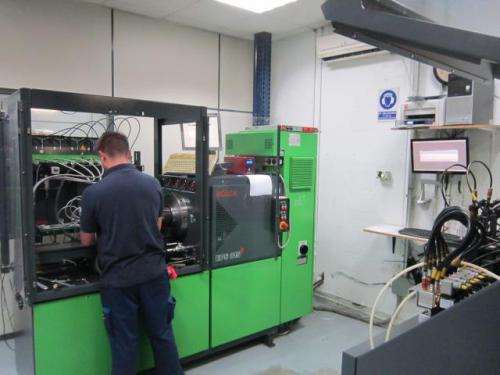 Laboratorio diesel Common Rail Bosch