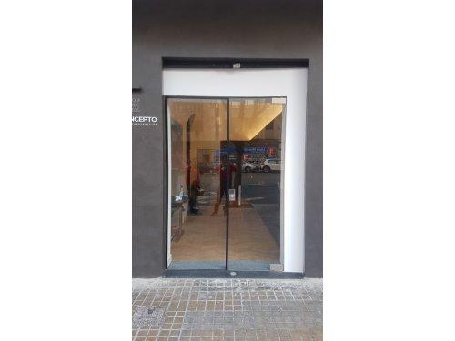 Puerta vidrio + fijo