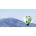 Volando en globo en Piloña