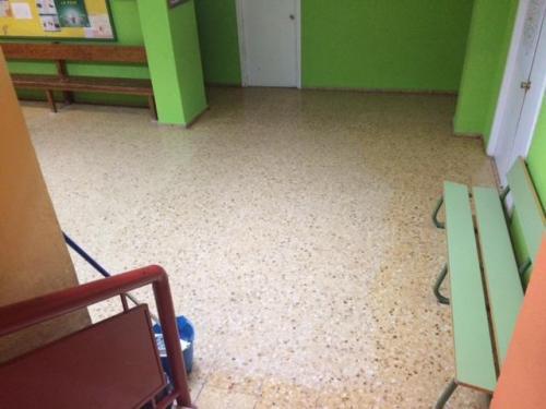 Limpieza de centros escolares