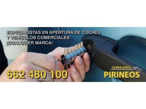Apertura de coches y vehículos comerciales en Huesca