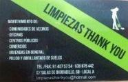Limpiezas Thank You