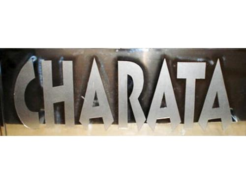Rotulación para empresa Charata