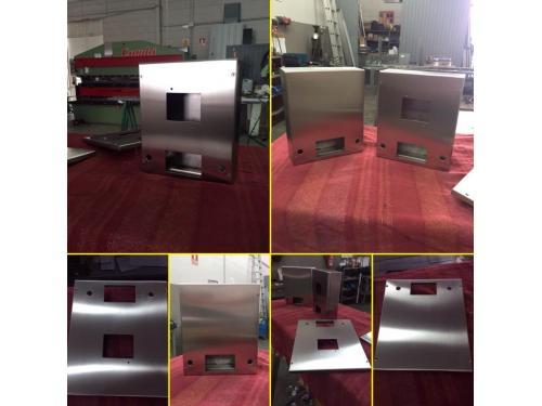 Fabricación de cajas de mecanismos en inox