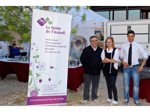 La Cuina de l'Araceli, trabajo en equipo, materia prima de proximidad y primera calidad, servicio profesional