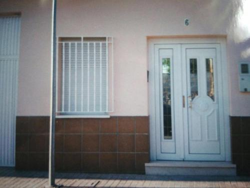Puerta de entrada de PVC en Daimiel