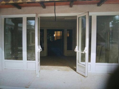 Puerta de entrada del Centro del agua de Daimiel