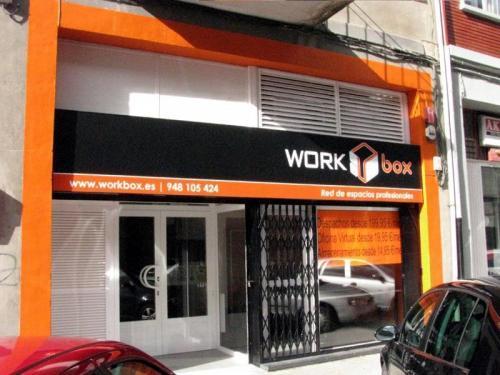 WORKbox Pamplona fachada