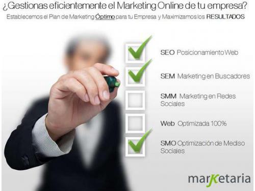 Marketaria, la web para tu empresa