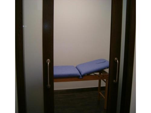 Cabina de masajes.
