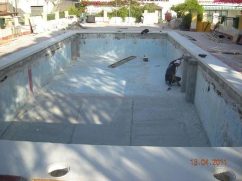 Impermeabilizacion de piscina