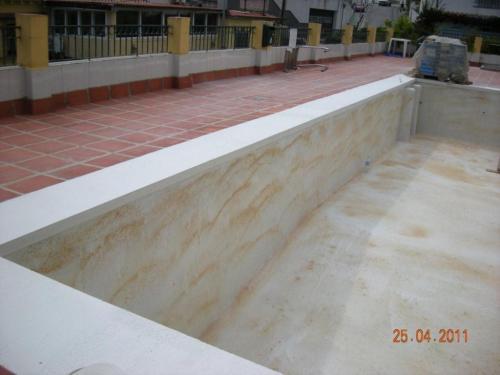 Impermeabilización de piscina