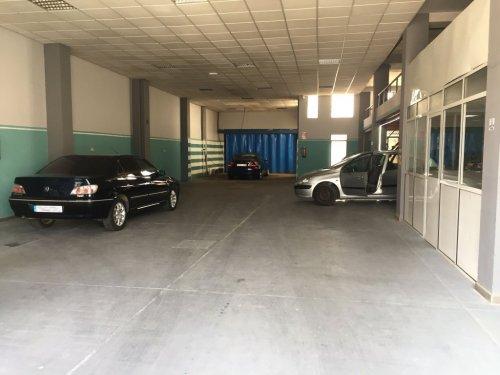Interior lavadero de coches don benito 3