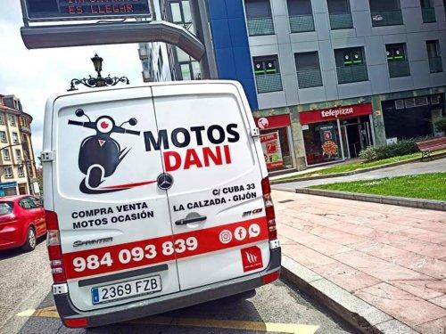 Mantenimiento flotas motos Asturias Motos Dani