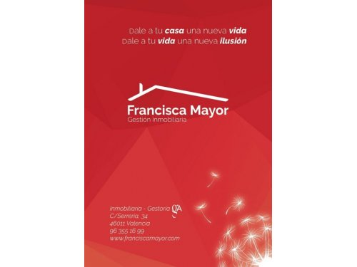 Flyer Francisca Mayor