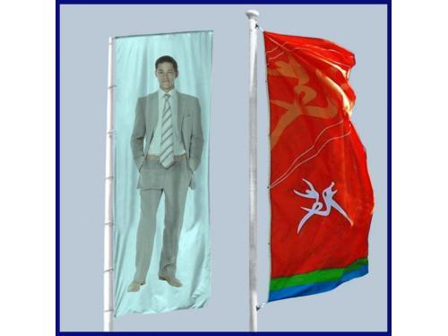 Comprar Banderas verticales para publicidad