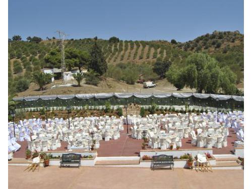 Espectaculares montajes de banquete