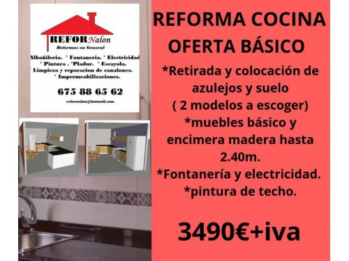Reforma integral cocina en asturias - Refornalon