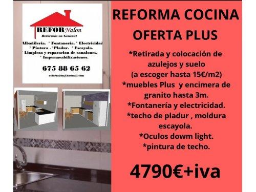 Reforma integral cocinas en asturias - Refornalon