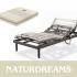Colchones Naturdreams.  Todo para tu descanso  . colchones , articuladas , canape, somier , ropa de cama , proteccion para tu colchon