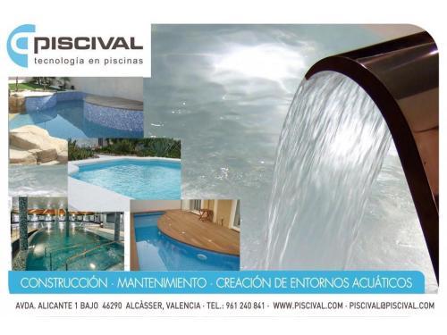 PISCIVAL sección piscinas