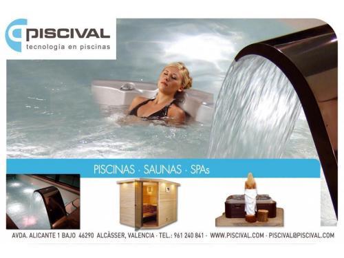 PISCIVAL Sección Saunas y Spa