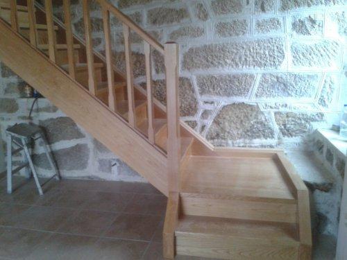 escalera en la Ribeira Sacra