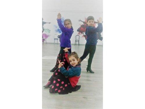Fotos de clase de Flamenco