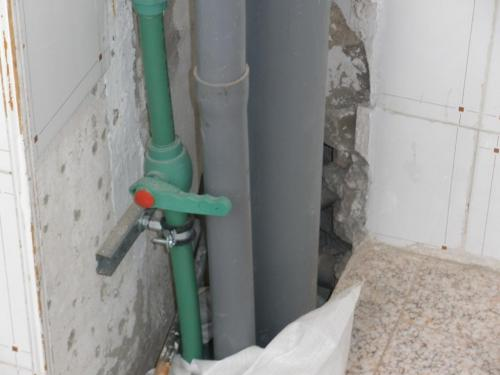 Instalaciones de Desagües y de Alimentacion agua a viviendas