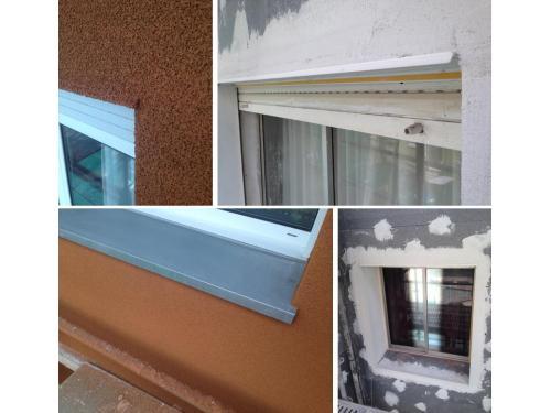 Sistema de aislamiento por el exterior de fachada SATE Etics Fachadas Cantabria