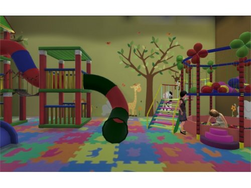 Entorno Virtual Inmersivo T-Room sala de juegos