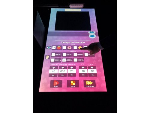 Min-Top mesa interactiva para trabajar funciones ejecutivas