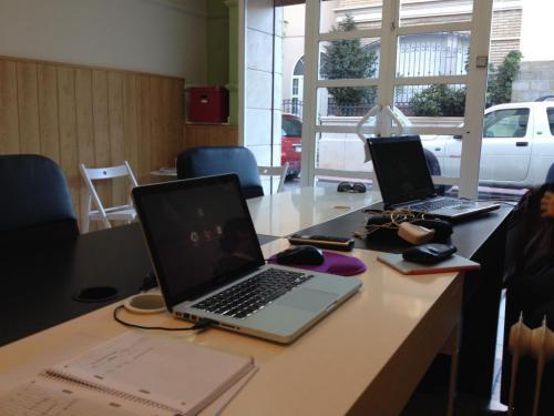 Nuestra oficina.