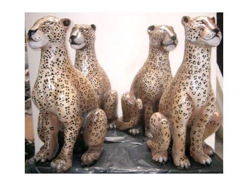 Figuras de leopardos