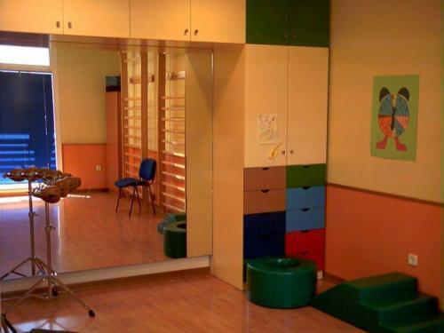 Aula de Taller de Música Infantil y Psicomotricidad