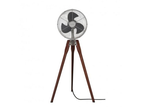 CASA BRUNO Arden Tripod ventilador oscilante de pie, bronce antiguo