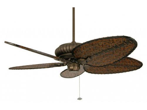 CASA BRUNO Outdoor ventilador de techo Belleria, bronce envejecido