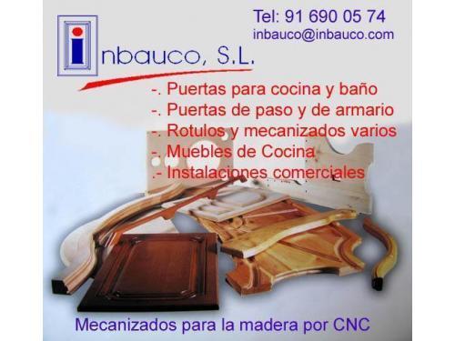 MECANIZADOS DE MADERA - INBAUCO SL 91 690 0574