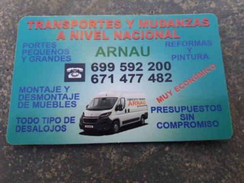 Mudanzas y Transportes Arnau
