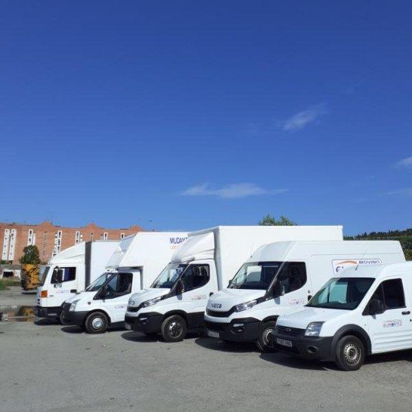 Nuestra flota de vehículos.