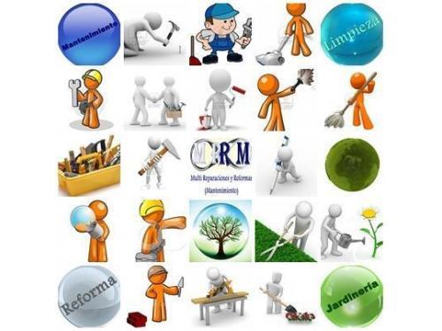 multi reparaciones y reformas mantenimiento servicios trabajo