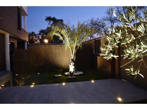 Jardín diseñado en la Piovera (Madrid)